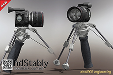 eiraSYS hdStably feedback control - HD camera stabilizer