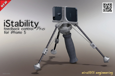 eiraSYS iStability feedback control Pro - iPhone 5 video stabilizer