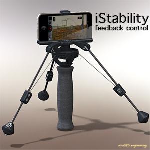 iStability feedback control (black)