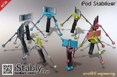 eiraSYS iStably Pro - iPod video stabilizer